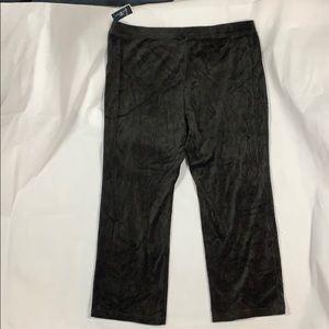 Karen Scott  fleece pants